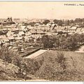 Pâturages - panorama - carte postale