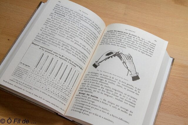 Les encyclopédie des arts du fil (2)