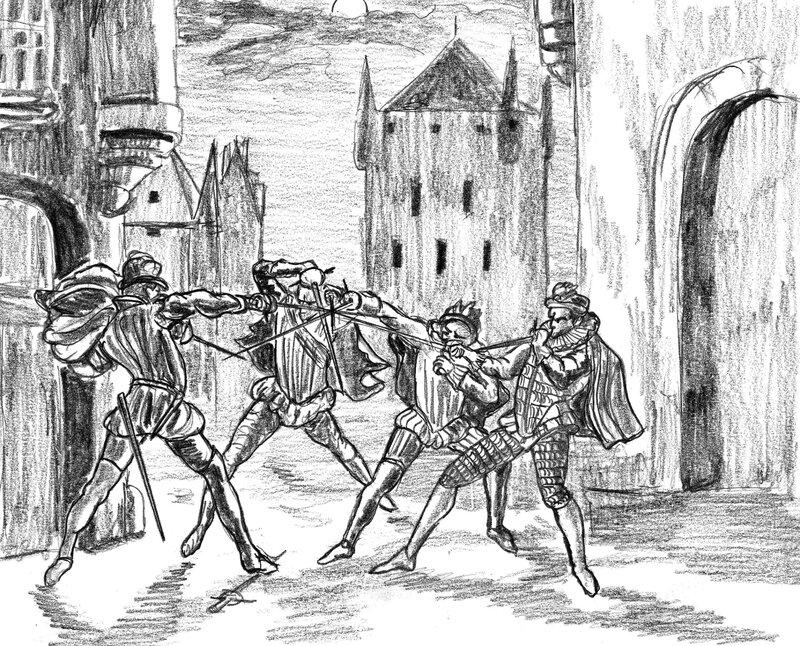 Bataille de rue