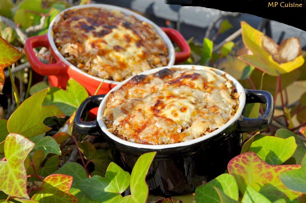 Cocotte De Parmentier Quinoa Chou Fleur Mp Cuisine