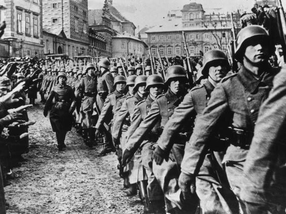 invasion Tchécoslovaquie