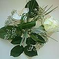 Carte postale - fleurs fraîches