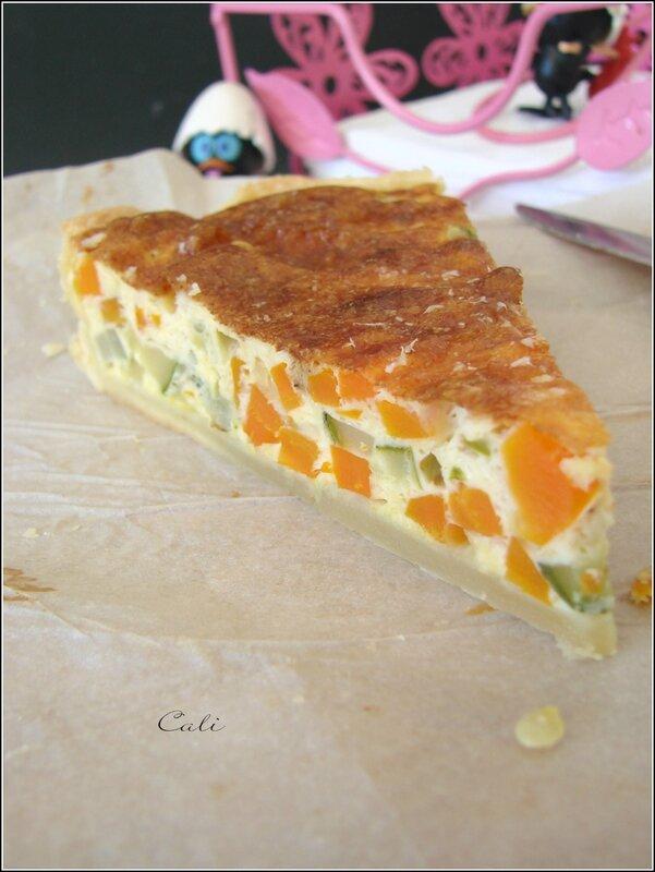 Quiche Courgettes & Carottes au Parmesan 004