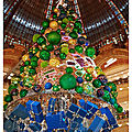 Sapin Coupole Galeries Lafayette Hausmann