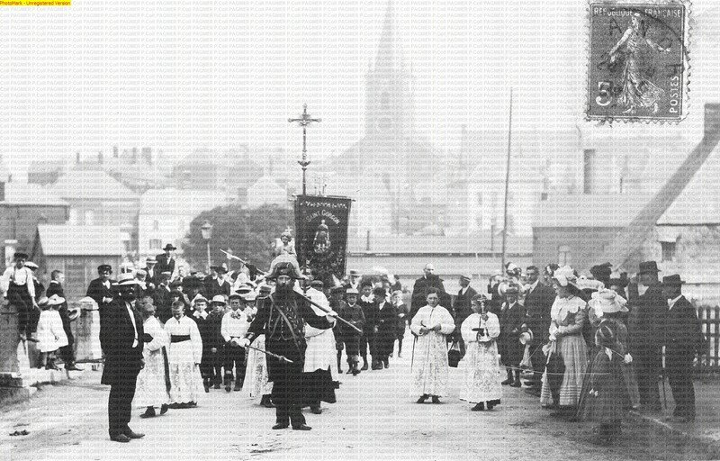 Procession de St Gorgon (1900)