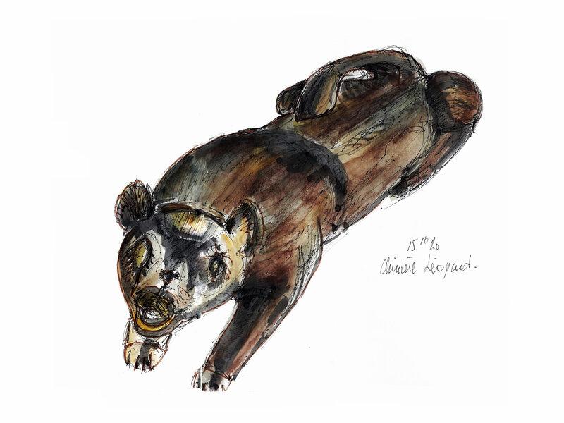 Nièvre chimère Léopard