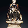 A Cizhou figure of Zhenwu, Ming dynasty, 15th century