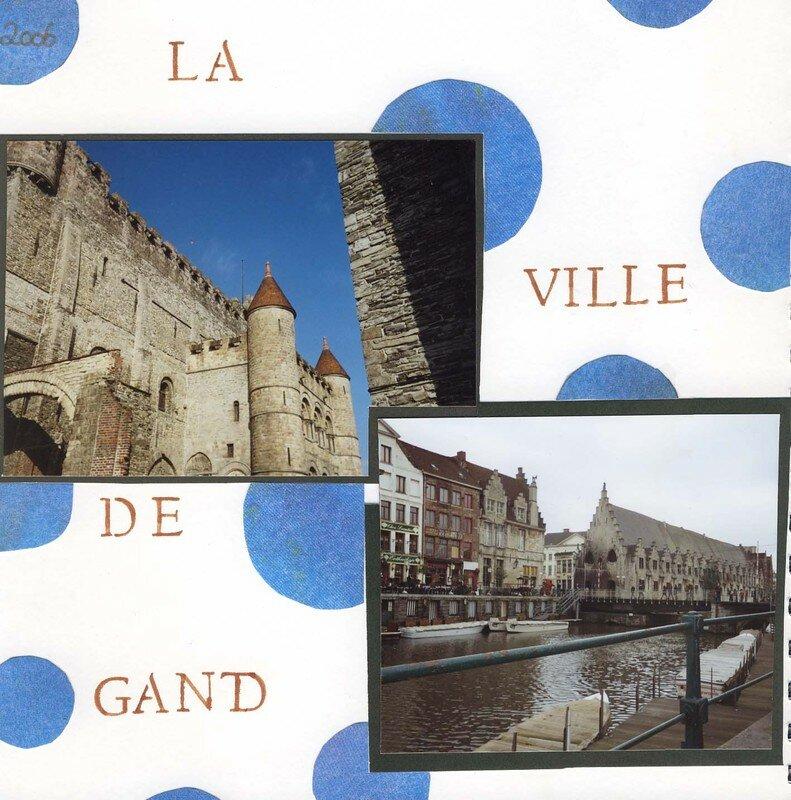 La ville de Gand