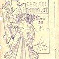 La Gazette Chifflot de décembre 1916. Un vieillard chargé de sav