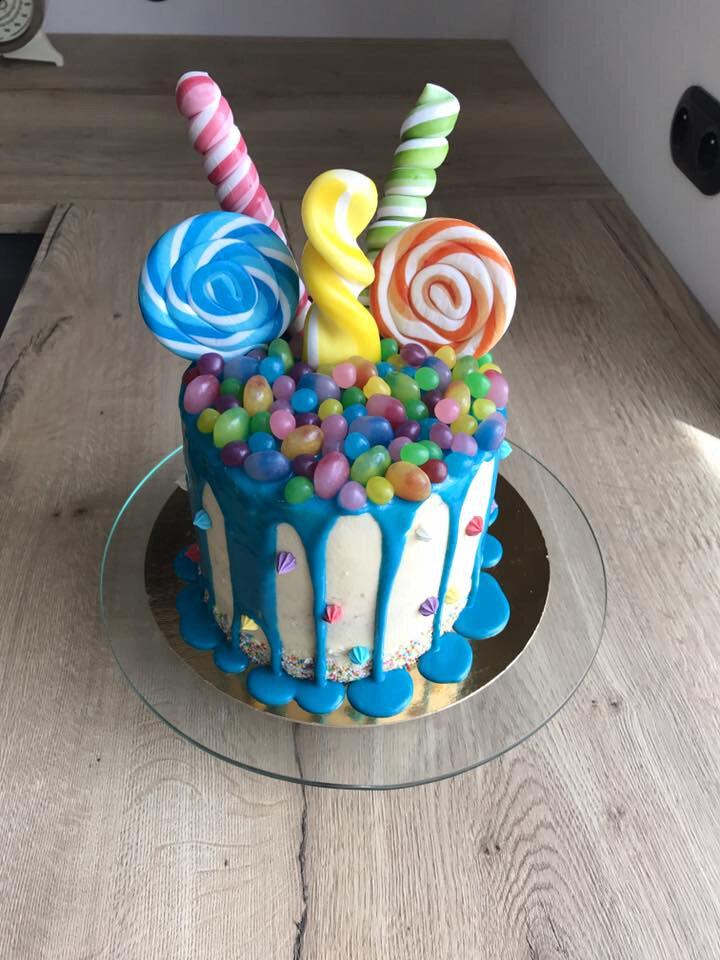 Mon premier drip cake