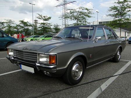 FORD_Granada_Mk_I_GXL_2300_V6_Automatic_Berline___1972_77 Rencard du Burger King Offenbourg 1_