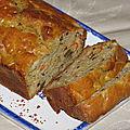 Carrot cake aux endives et aux noix