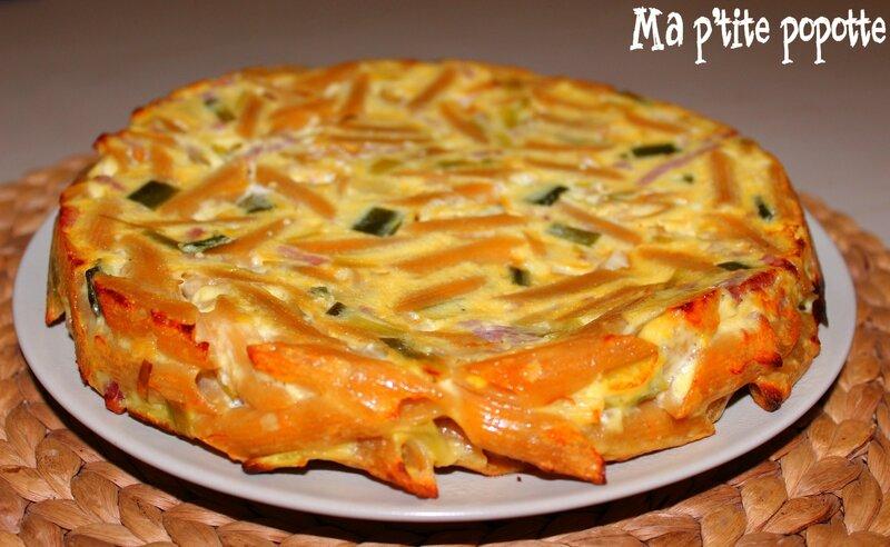 Popotte - Gâteau de macaroni