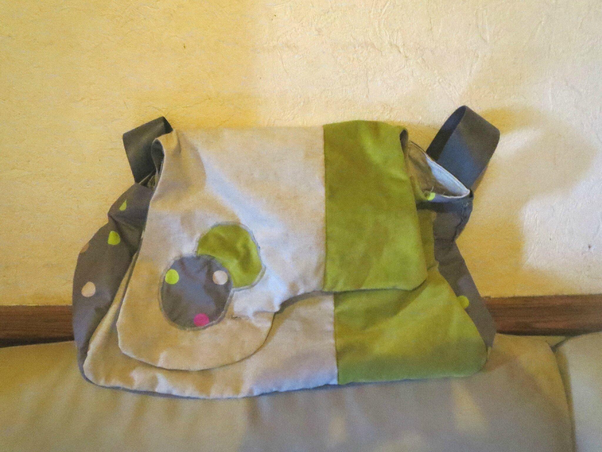 Mes premiers pas couture : un sac à mon image