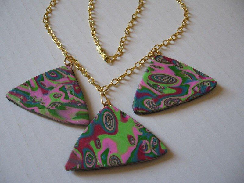 Triangles mokumé