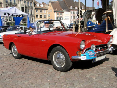 SUNBEAM Alpine Convertible Festival Automobile de Mulhouse 2009 1