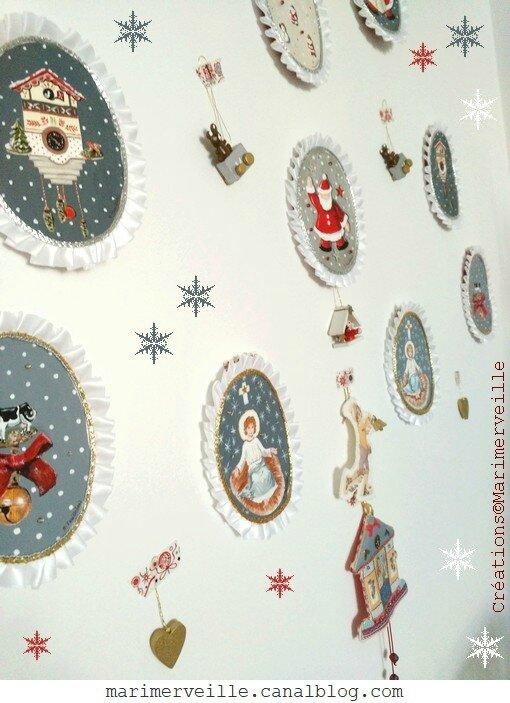 Médaillons mde Noël Marimerveille - créations exclusives