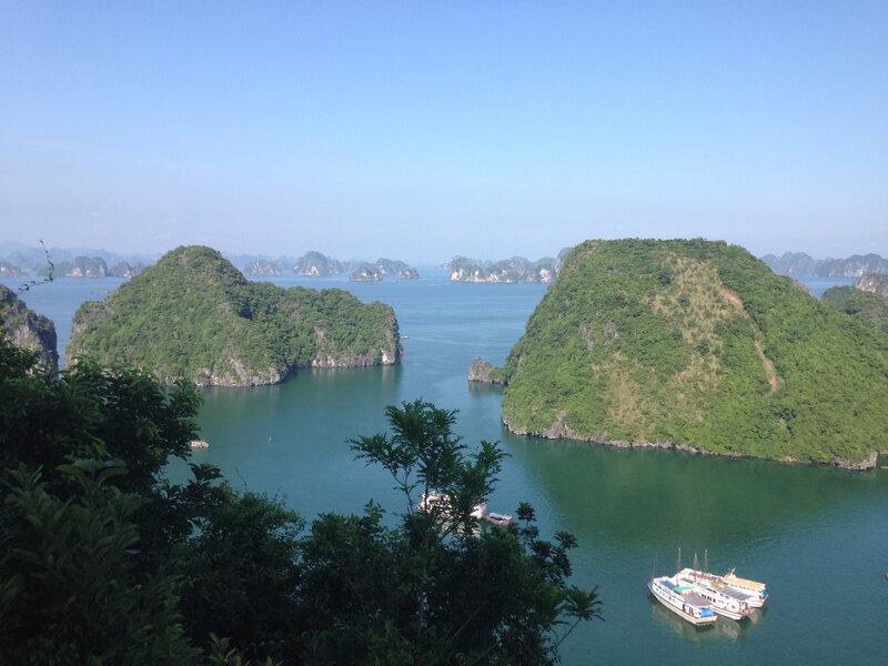 la Baie d'Halong !!