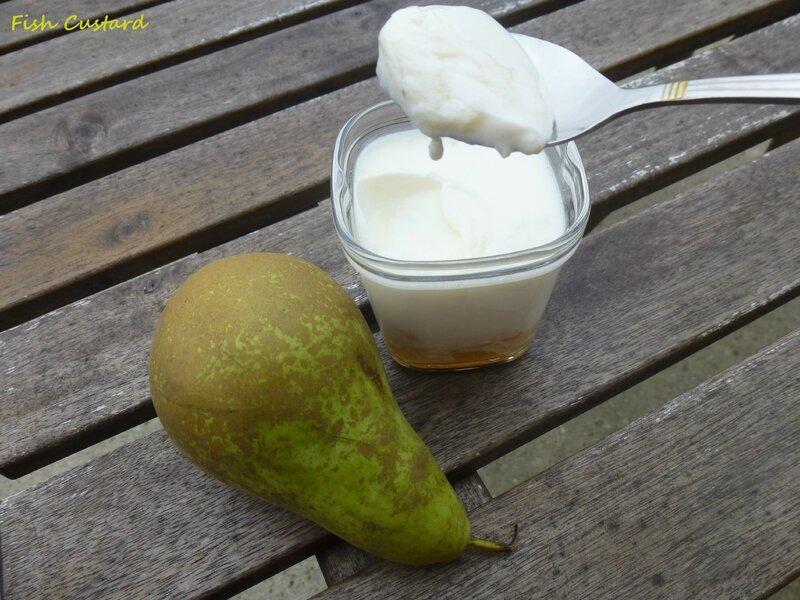Yaourt à la poire et au rhum (7)
