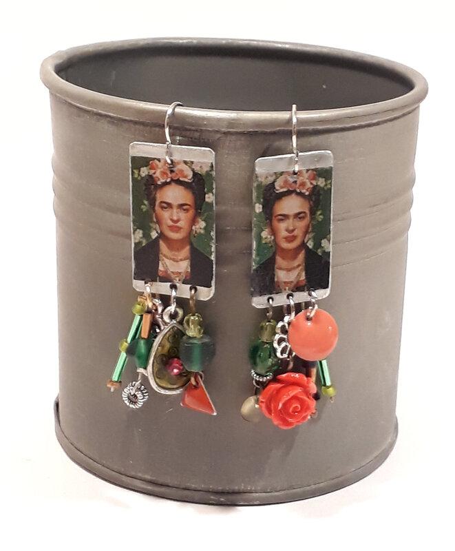 BO Frida Kahlo verte