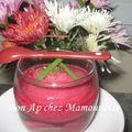 Verrines à la betterave, fromagées, à la fleur de sel au basilic et balade automnale en vendée