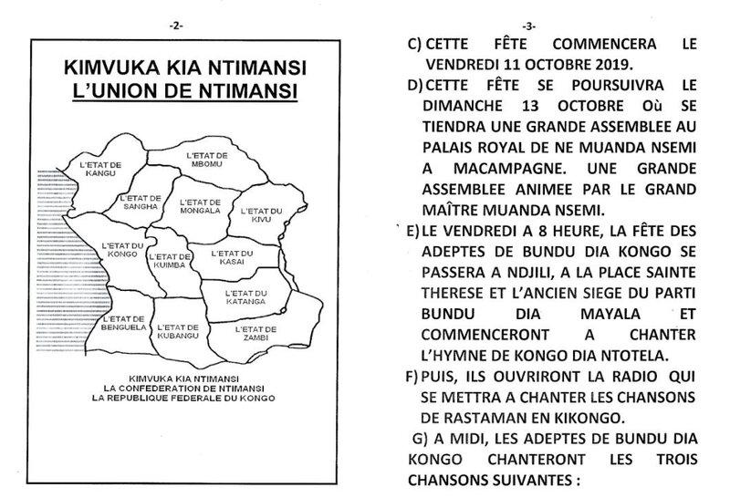 LE 68EME ANNIVERSAIRE DE LA MORT DU SEIGNEUR KIMBANGU b