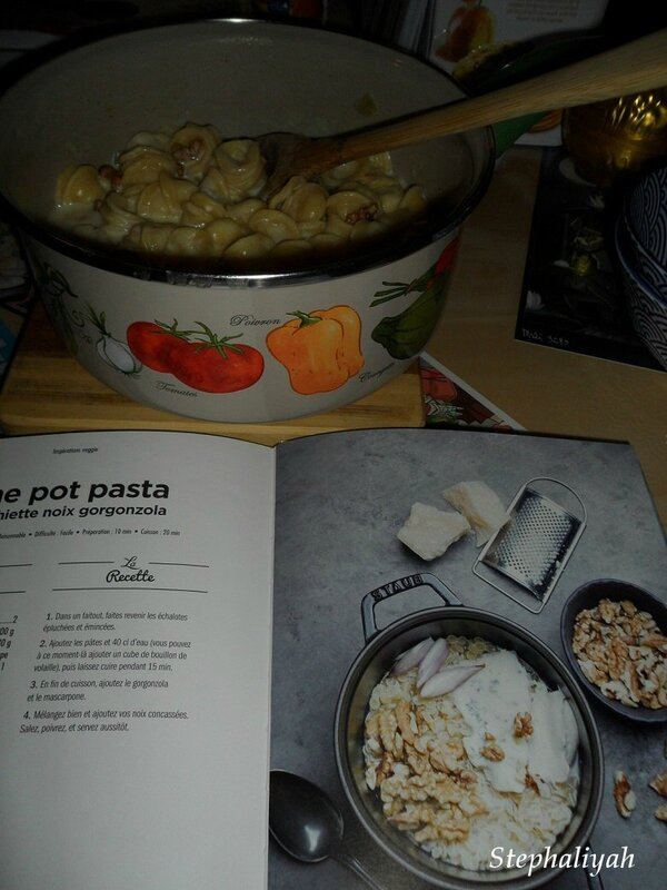 One pot pasta noix gorgonzola - 5 mars 2016