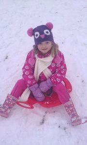 2013-01-19 sophie et sa luge