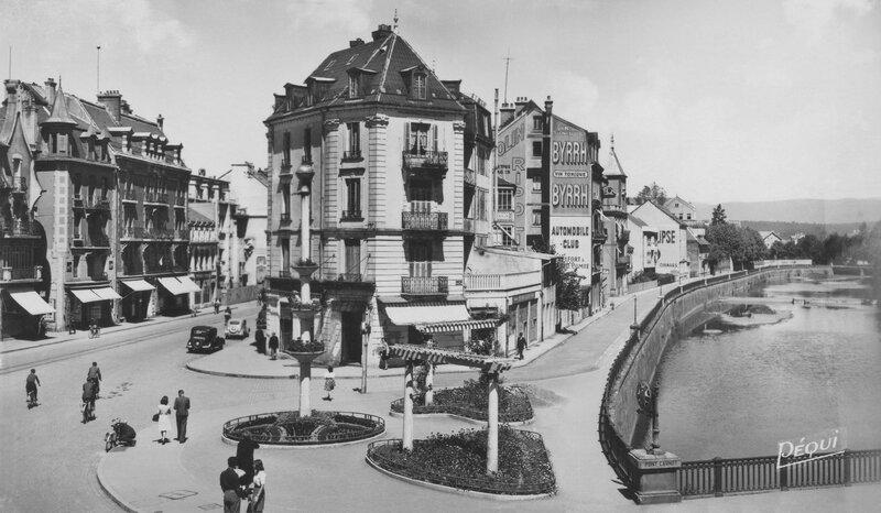 CPSM Belfort Place Corbis 1945-50 1