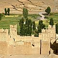 kasbah d'Agoudal Maroc