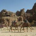 Petra, vue sur l'amphitheatre romain