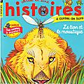 En septembre chez mille et une histoires, les lions sont à l'honneur !