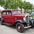 Citroën rosalie 10cv berline 4 portes 1934
