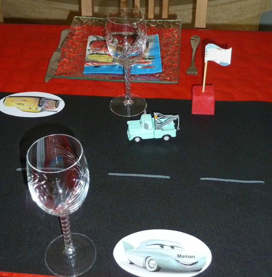 Decoration De Table Course De Voiture P Tite Popotte