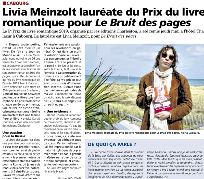 livia article cabourg