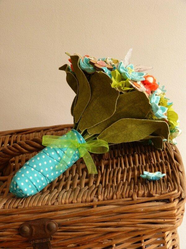 sophie bouquet ailes orange anis et turquoise4