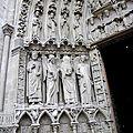 portail de la Vierge_ébrasement gauche x Constantin _ St Denis