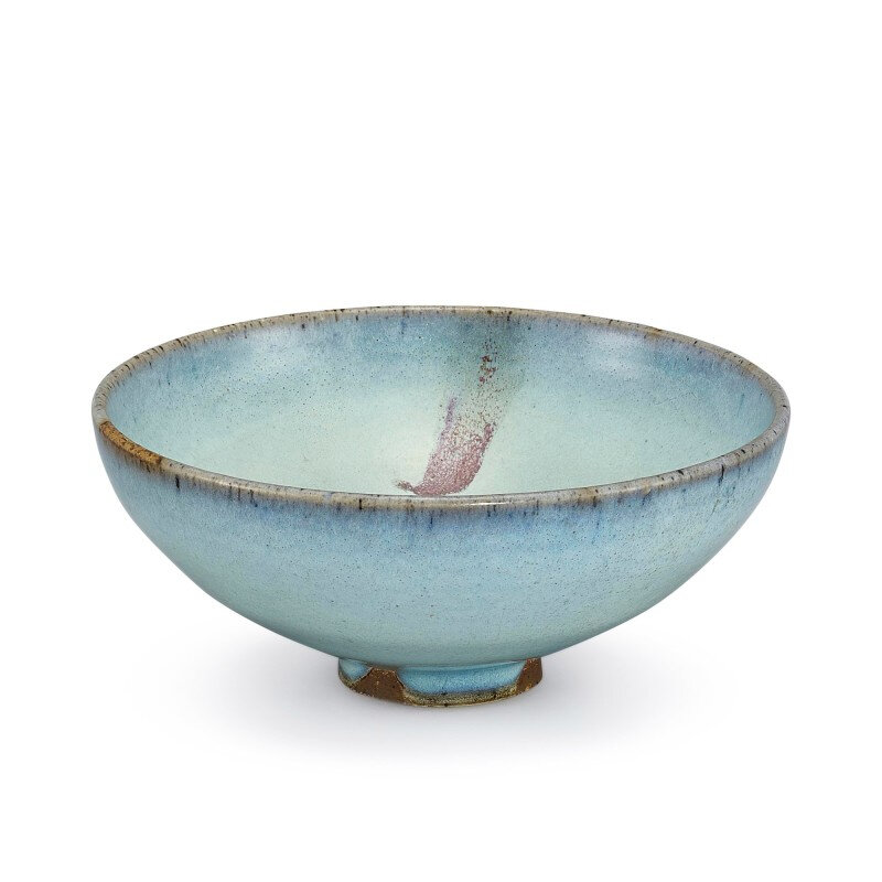 A Junyao purple-splashed bowl, Song–Yuan dynasty (960-1368)