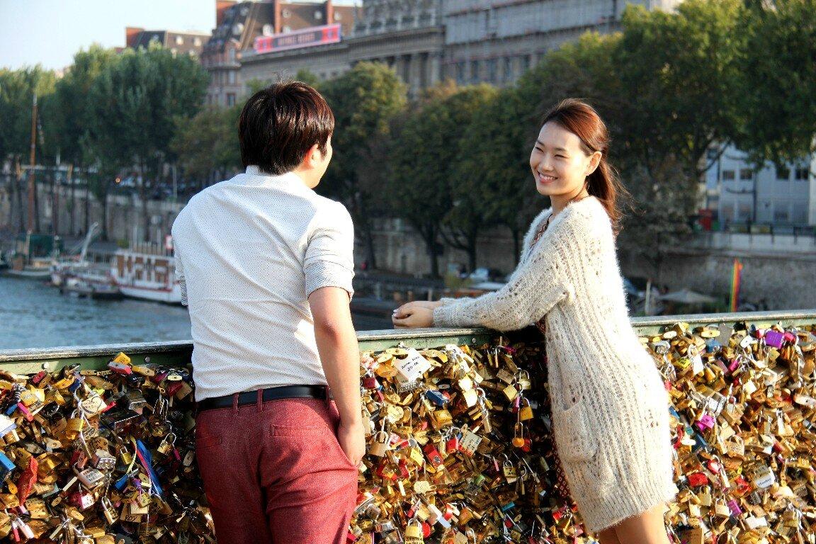 Amoureux, Cadenas, Pont des Arts_7149