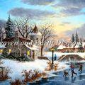 Winter At Stonebridge Manor