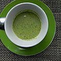 Velouté de brocolis au kiri®