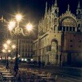 Venise - Place San Marco by night
