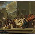 Clark art institute acquires guillaume guillon lethière's masterpiece 'brutus condemning his sons to death'