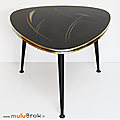 Mobilier ... table basse * triangulaire