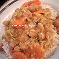 Curry vert veggie