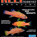 Un nouvel article dans le reef hobbyist magazine -3e trimestre 2020