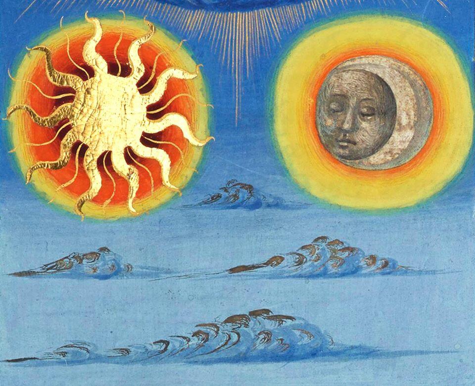 Sous l'ombre du soleil et la clarté de la lune