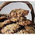 Cookies aux pépites de chocolat ( mes desserts en kit )