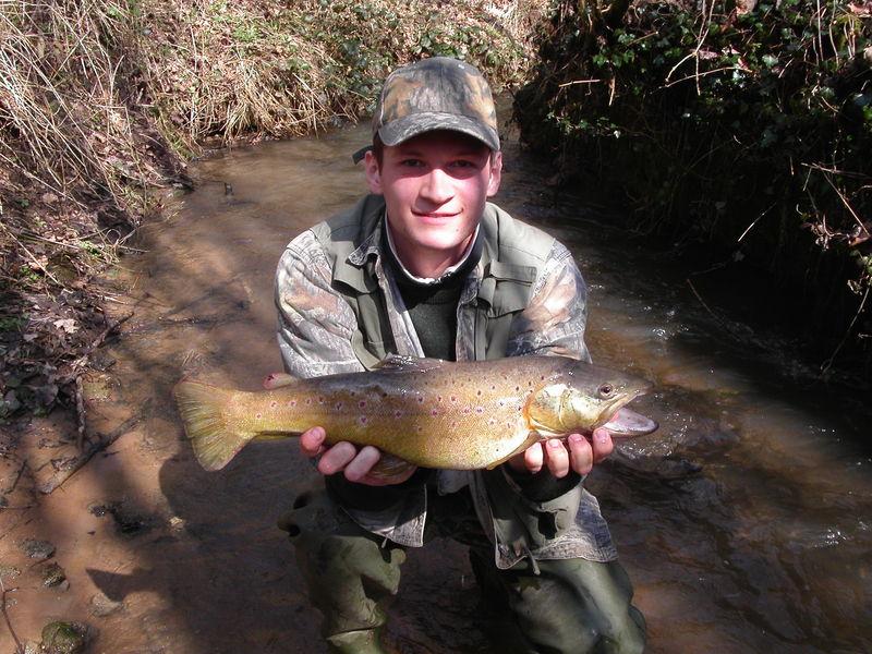 Truite fario mâle 54 cm 1kg850