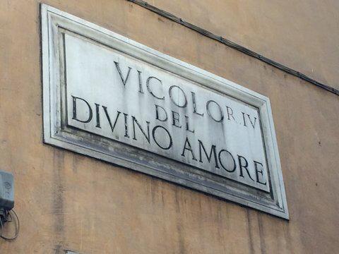 Rome Campo Marzio Borghese Vicolo del Divino Amore